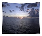 At Sea -- A Sunrise Begins Tapestry