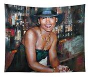 At The Bar Tapestry