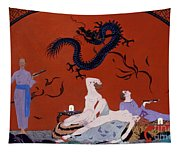 At The House Of Pasotz Tapestry