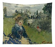 At The Meadow. Vetheuil Tapestry
