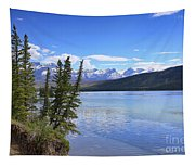 Athabasca River Scenery Tapestry