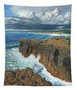 Atlantic Breakers Pontal Portugal Tapestry