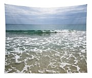 Atlantic Ocean Surf Tapestry