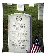 Audie Murphy - Most Decorated Tapestry