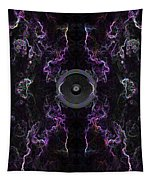 Audio Purple Neon Tapestry