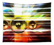 Audio Streaks Tapestry