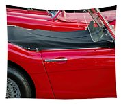 Austin Healey Red Tapestry