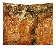 Australia Ancient Aboriginal Art 2 Tapestry