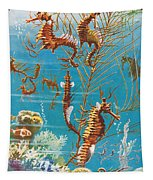 Australian Seahorses Tapestry