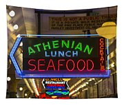 Authentic Lunch Seafood Tapestry