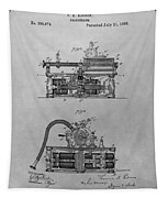Authentic Thomas Edison Phonograph Patent Tapestry