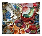 Automobile Repairs Tapestry