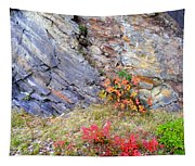 Autumn And Rocks Tapestry