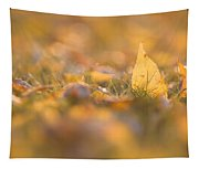 Autumn Ash Leaves Tapestry
