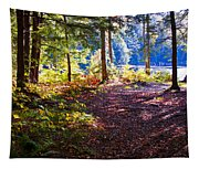 Autumn At Cary Lake Tapestry