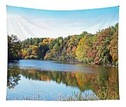 Autumn At Durand Tapestry