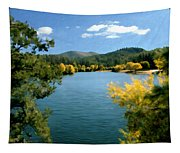 Autumn At Lynx Lake Tapestry