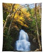 Autumn At Moss Glenn Falls Tapestry