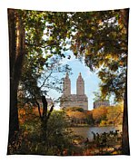 Autumn At San Remo Tapestry
