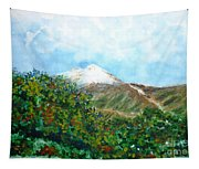 Autumn At The Foot Of Mount Elbrus Tapestry