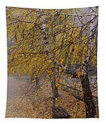 Autumn Bench Tapestry