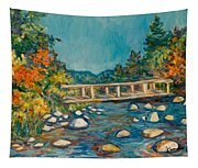 Autumn Bridge Tapestry