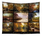 Autumn Collage Tapestry