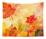 Autumn Dance Tapestry