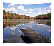 Autumn Dock Tapestry
