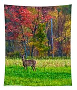 Autumn Doe - Paint Tapestry
