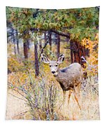 Autumn Doe Tapestry