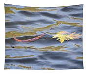 Autumn Floats Away Tapestry