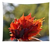 Autumn Flower Tapestry