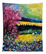 Autumn Flowers Tapestry