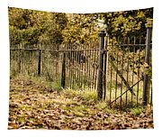 Autumn Gate Tapestry