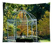 Autumn Gazebo Tapestry
