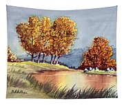 Autumn Golds Tapestry