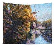 Autumn In Schiedam Tapestry