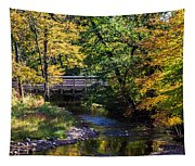 Autumn In Stillwater Tapestry