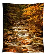 Autumn In Vermont Tapestry