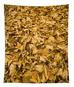 Autumn Leaf Background Tapestry