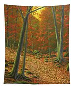 Autumn Leaf Litter Tapestry