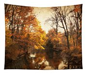 Autumn Lingers Tapestry
