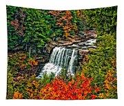 Autumn Magic Paint Tapestry