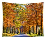 Autumn Morning Tapestry