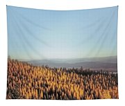 Autumn Mountains Tapestry