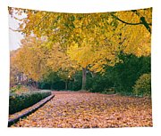 Autumn - New York City - Fort Tryon Park Tapestry