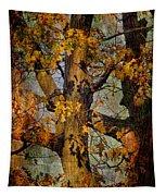 Autumn Oaks In Dance Mode Tapestry