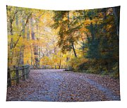 Autumn On Forbidden Drive Tapestry