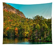 Autumn On Lake George Tapestry